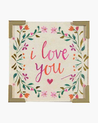 I Love You Corner Magnet