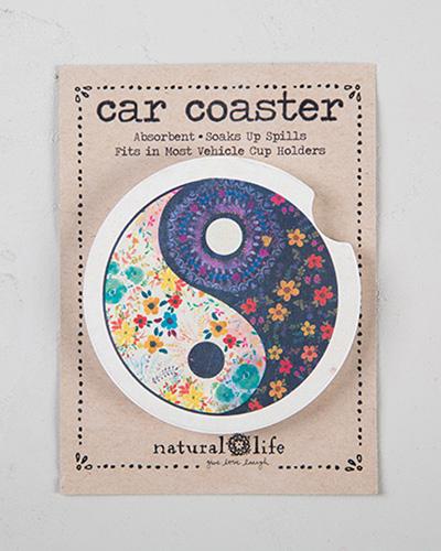 Yin Yang Car Coaster