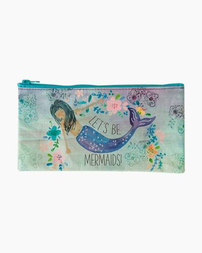 Let's Be Mermaids Recycled Pencil Pouch
