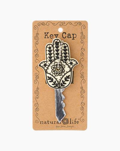 Live Happy Hamsa Hand Key Cap