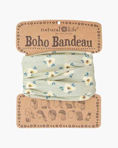 Sage Lily Floral Boho Bandeau