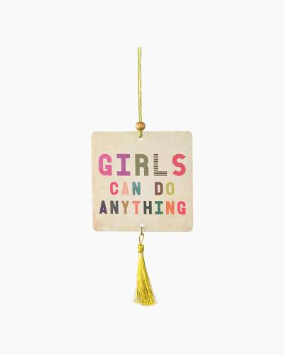 Girls Can Do Anything Air Fresheners (Set of 2)