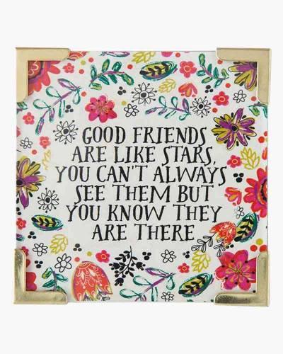 Good Friends Are Stars Corner Magnet