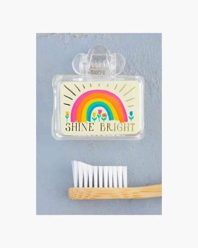 Shine Bright Rainbow Tooth Brush Cover