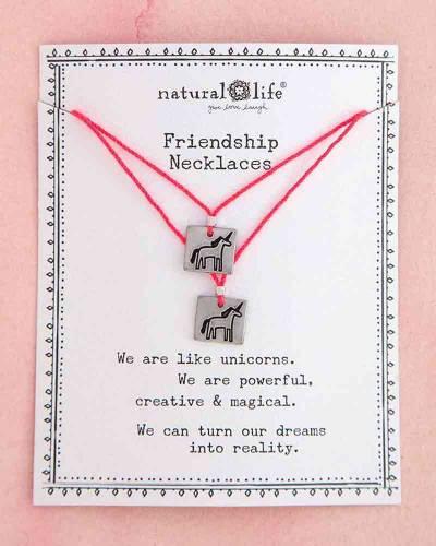 Unicorn Friendship Necklace Set