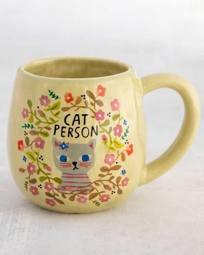 Cat Person Happy Mug