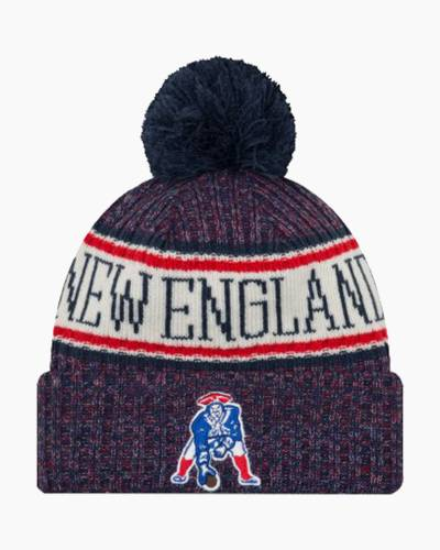 New England Patriots Sideline Historic Knit Cap