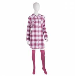 Simply Noelle Plaid Pajama and Knee Socks Set