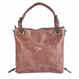 Simply Noelle Zipper Gusset Tote Bag