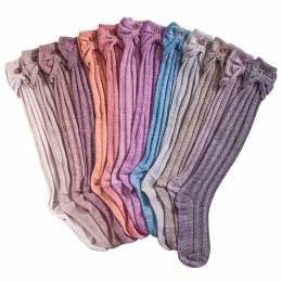 Noelle Scalloped Heather Boot Sock