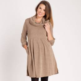 Noelle Cowl Neck Dress