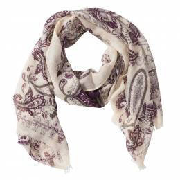 Noelle Paisley Scarf in Orchid
