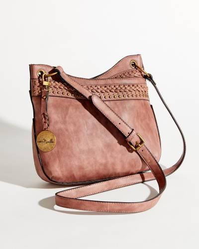 Braided Messenger Bag