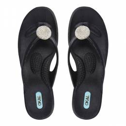 Oka-B Licorice Lucky Sandals