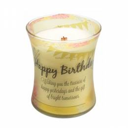 WoodWick Happy Birthday WoodWick Inspirational Collection Candle