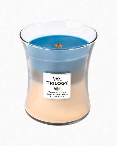 Nautical Escape WoodWick Trilogy Candle