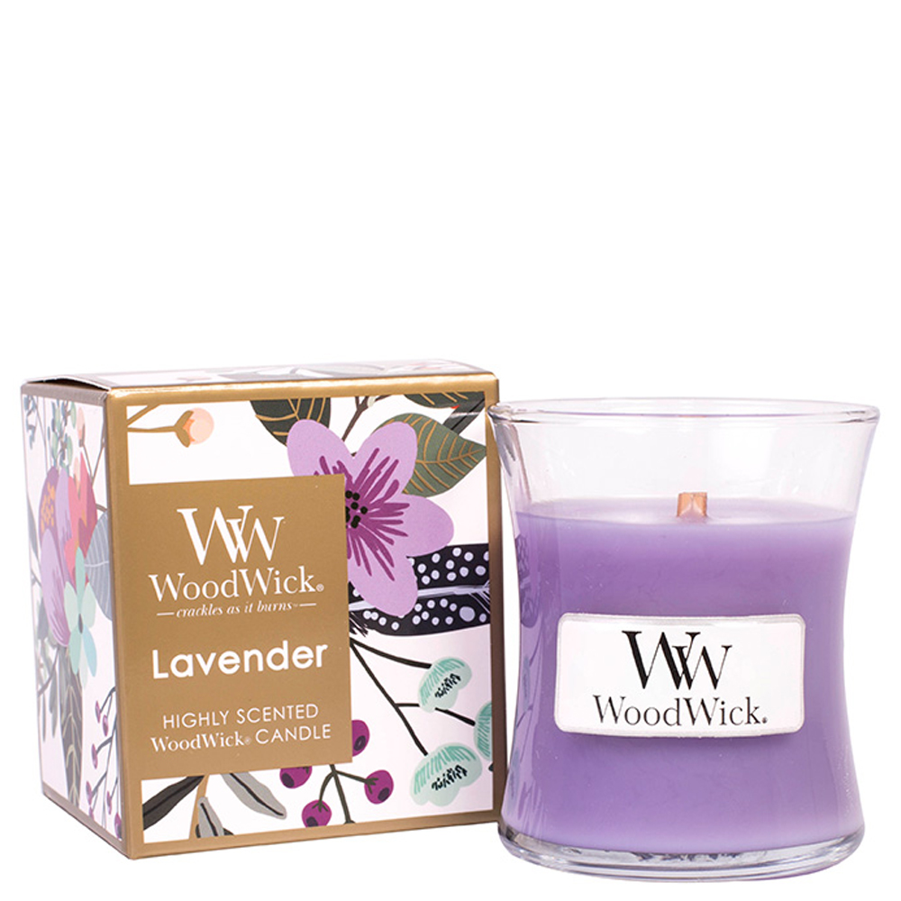 WoodWick Lavender Mini Boxed WoodWick Candle