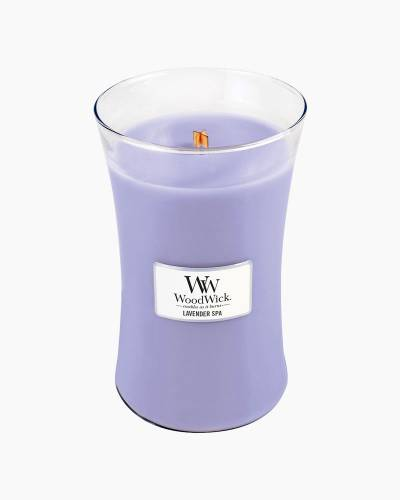 Lavender Spa Large WoodWick Candle