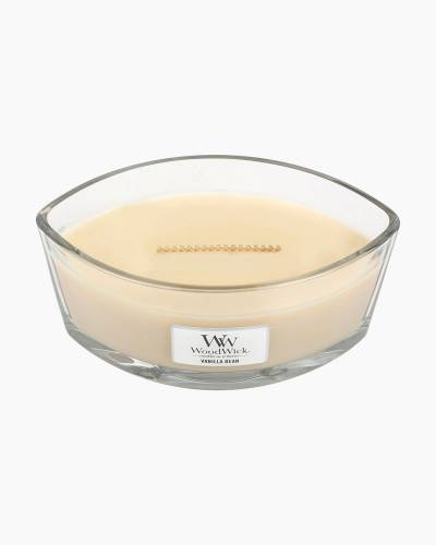 Vanilla Bean WoodWick HearthWick Flame Candle
