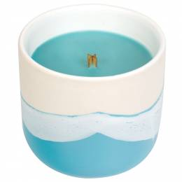 WoodWick Tropical Oasis Waterscape Ceramic Candle
