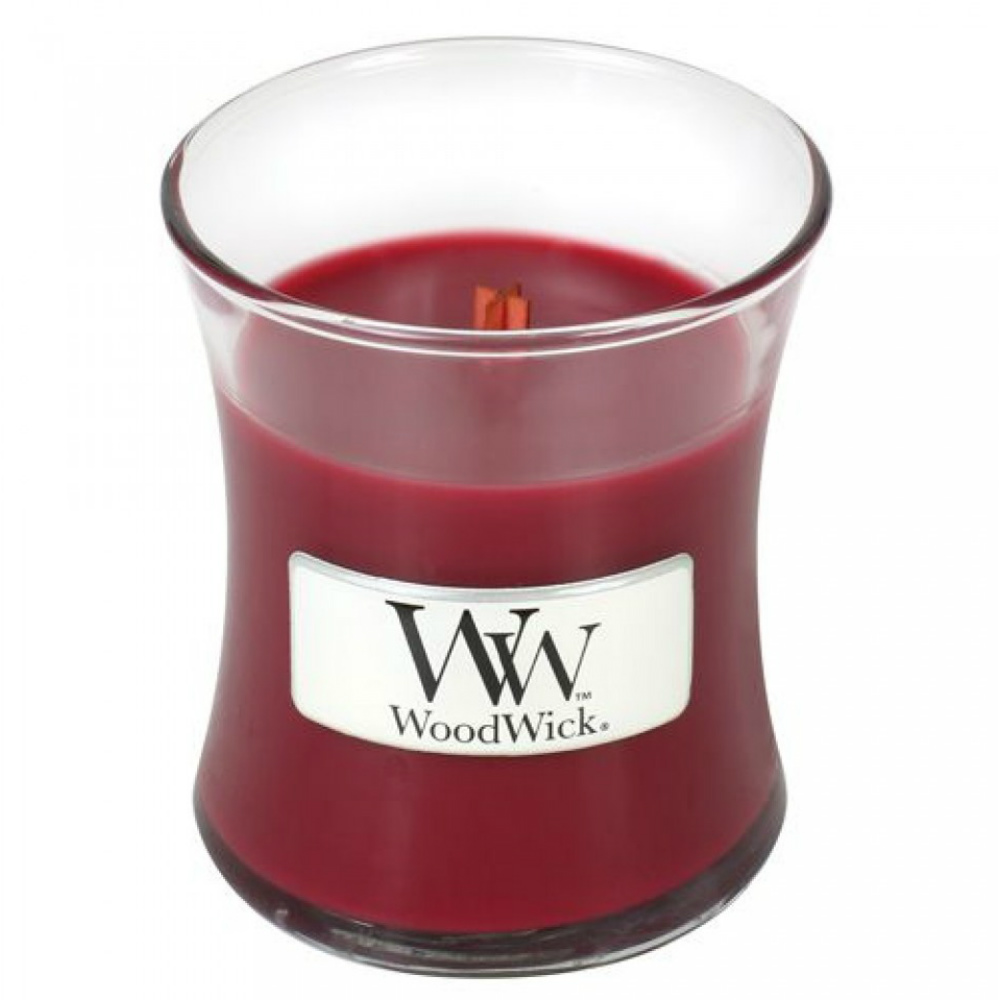 WoodWick Cranberry Mini WoodWick Candle