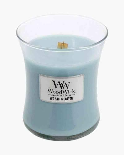 Sea Salt and Cotton Mini WoodWick Candle