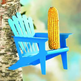 Opportunities, Inc. Adirondack Chair Squirrel Feeder