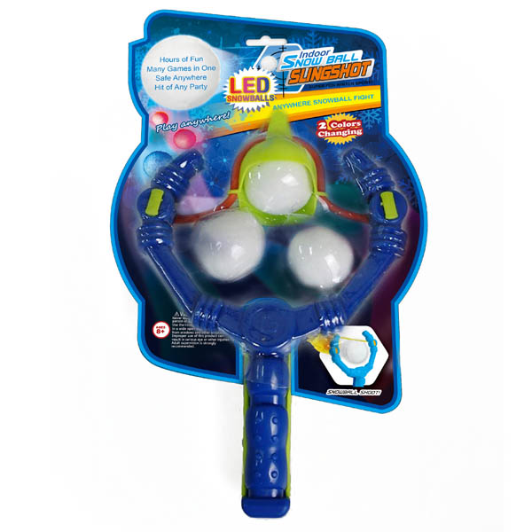 Opportunities, Inc. Indoor LED Snowball Slingshot