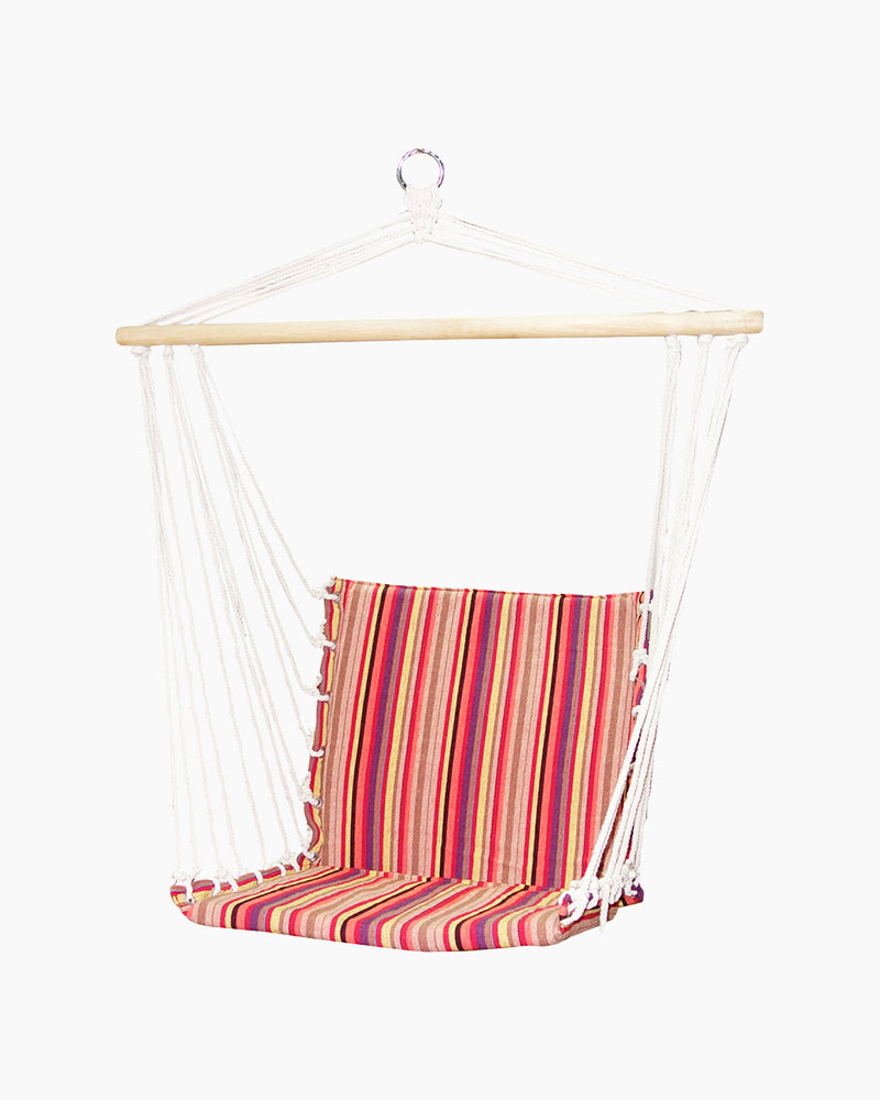 Opportunities, Inc. Hammock Swing Chair in Pink and Purple