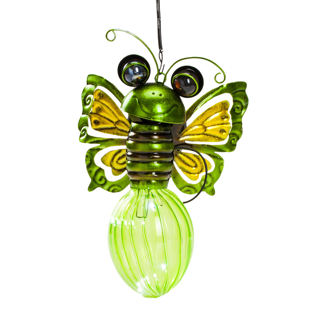 Opportunities, Inc. Solar Bug Light in Green