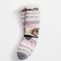 The Paper Store Holiday Slipper Socks