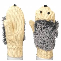 The Paper Store Kid's Hedgehog Mittens
