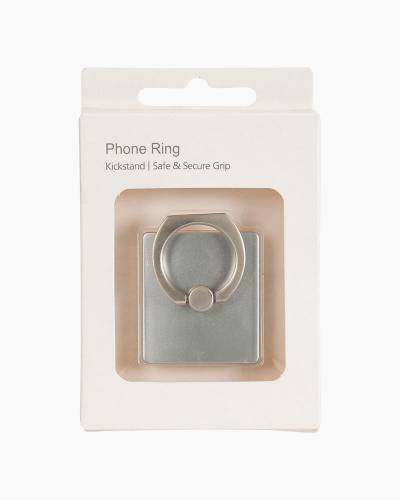 Phone Ring in Silver