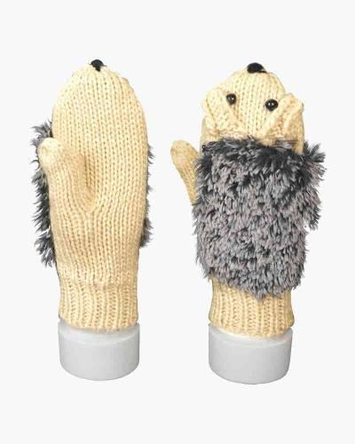 Plush Hedgehog Mittens