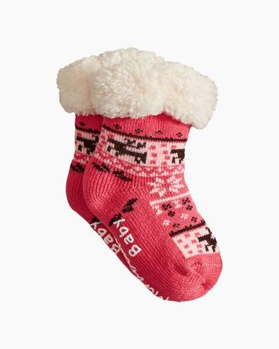 Holiday Baby Thermal Socks