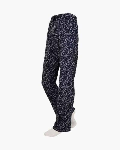 Navy Patterned PJ Lounge Pants