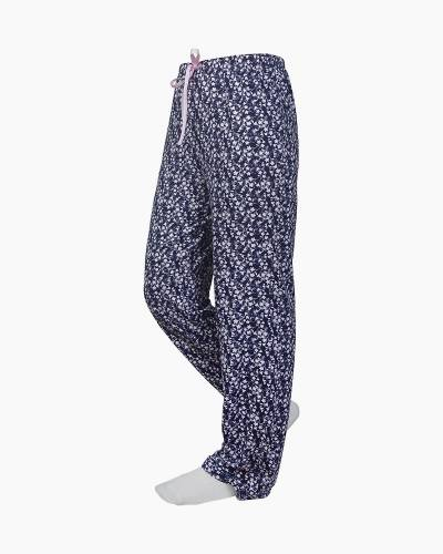 Navy and Pink Floral PJ Lounge Pants