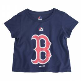 Majestic Boston Red Sox Youth Distressed Logo Tee