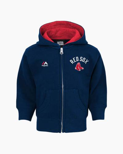 Boston Red Sox Toddler Full-Zip Hoodie