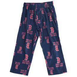 Reebok Boston Red Sox Youth Logo Print Pants