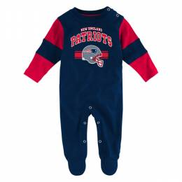 Reebok New England Patriots Infant Coveralls