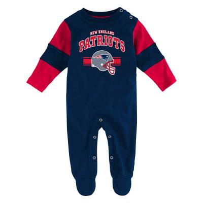 New England Patriots Infant Coveralls