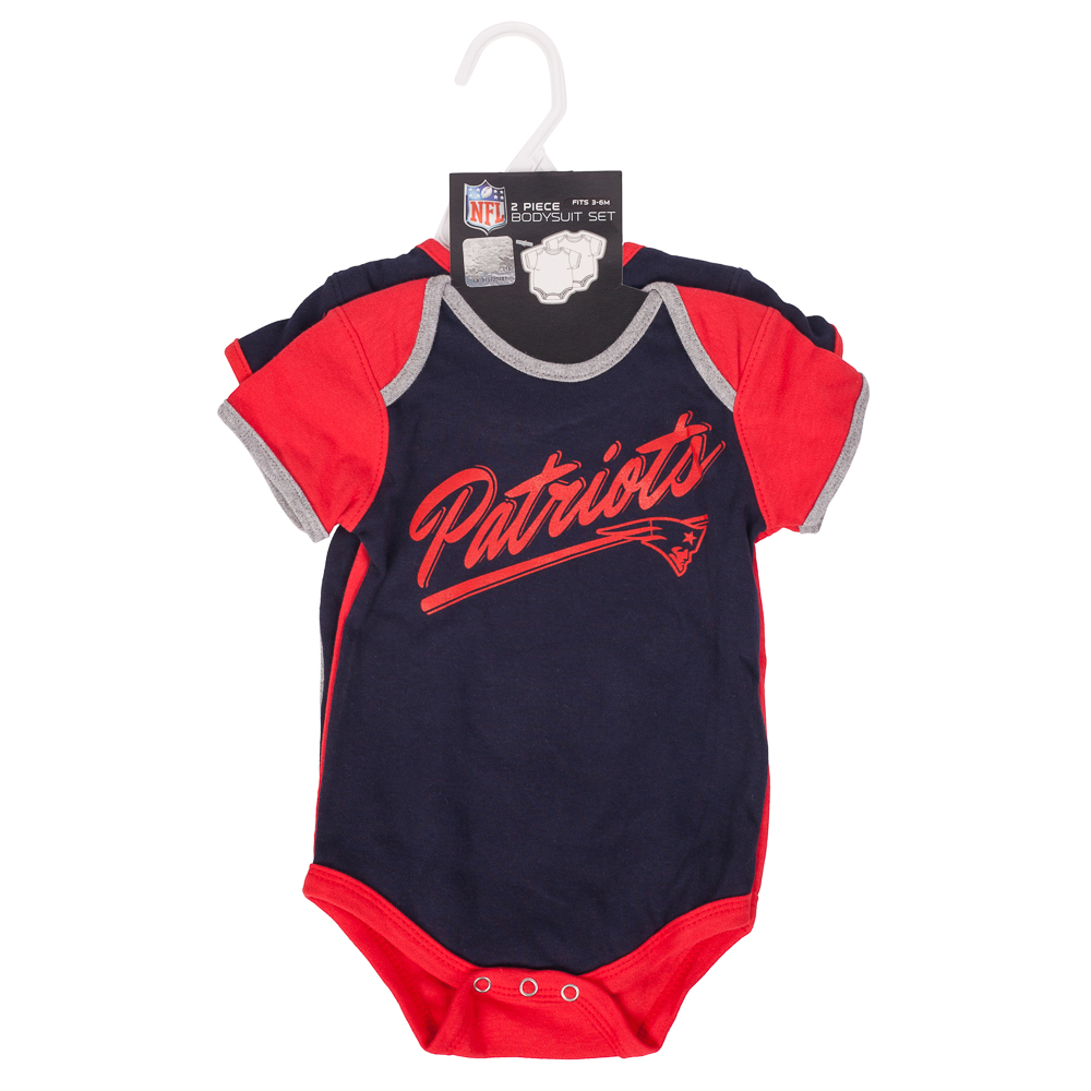 Reebok New England Patriots Descendants Infant One-Pieces (Set of Two)