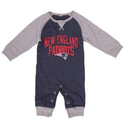 New England Patriots Proud Fan Infant Romper