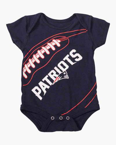 New England Patriots Fanatic Infant One-Piece