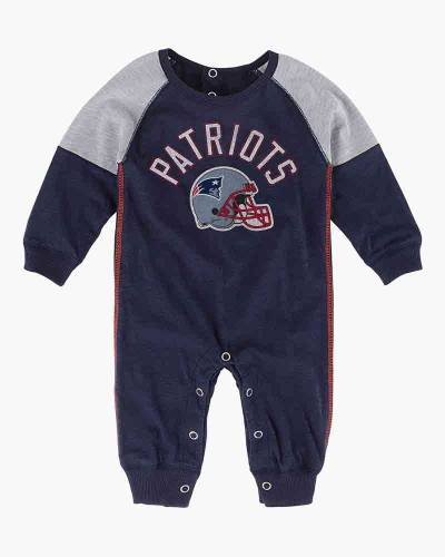 New England Patriots Heritage Baby Coverall