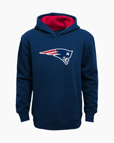 New England Patriots Youth Prime Pullover Hoodie