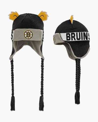 Boston Bruins Preschool Ears Knit Trapper Hat