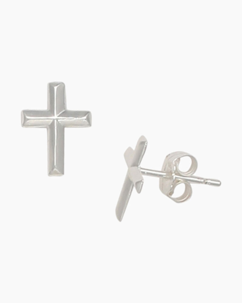 e612aff05 Aimee by Pastore Cross Stud Earrings | The Paper Store