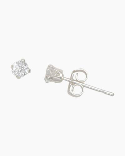 Cubic Zirconia 3 mm Stud Earrings